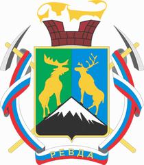 Герб поселка Ревда Мурманской области Ловозерского района